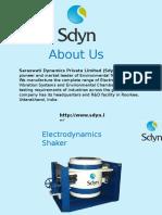 Electrodynamic Vibration System