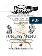 18122016 Sunday Menu - Hatter