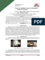 The Effect of Nylon 6.6 Nanofiber Layers on Mechanical Properties of Epoxy