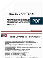 Excel 2010 Chap06 PowerPoint Slides for Class
