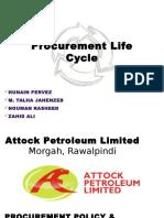 Procurement Life Cycle