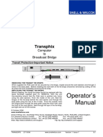 Transphix Operators Manual