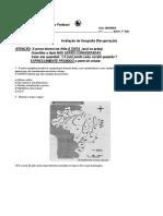 Avaliação de Geografia 1C _REC4B