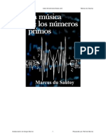 La Musica de Los Numeros Primos - Marcus Du Sautoy