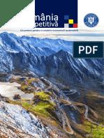 România Competitivă - Un Proiect Pentru o Dezvoltare Economică Sustenabilă 2016 - 2020