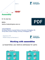 Lecture03-Working With ProE Assemblies