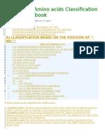 Basics and Amino Acids Classification Download eBook