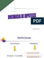 Docimasia de Hipotesis