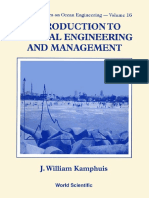 Kamphuis Introduction to Coastal Engineering and Mangaement