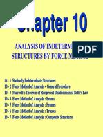 CE 431 Force Method Modifiied