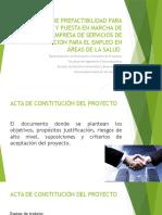 PRESENTACIÓN ESTUDIO DE PREFACTIBILIDAD