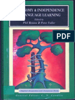 Autonomy and Independence in Language Learning by Phil Benson and Peter Voller (ebook)