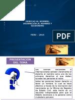 Derecho Al Nombre- DeRECHO CIVIL