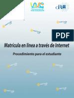 Proced Matr Web
