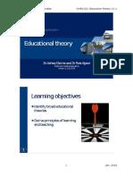 Educational Theories Workbook 2015