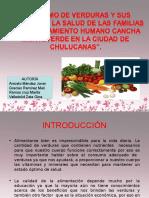 Proyecto Investigacion de Verduras