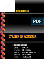 Blood Gases Slide