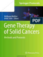 Gene Therapy of Solid Cancers Methods and Protocols (Methods in Molecular Biology) 2015th Edition {PRG}