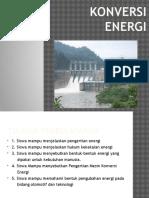 Presentasi Konversi Energi