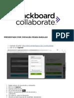 Actividad Interactiva- Creando Sesiones Collaborate