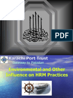 Environmental and Other Influence on HRM Practices