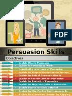 Persuasion Skills Basics