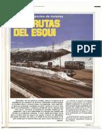 Revista Tráfico, nº 17 (diciembre de 1986). Las rutas del esquí