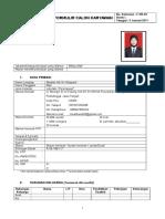 Form Isian Calon Karyawan.doc