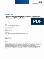 CMC Test Universe AppNote ADM Testing Relay Power Swing Impedance Characteristic 2013 ENU