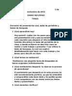 5 de noviembre de 2016   diario reflexivo