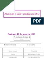 Atención a la diversidad en ESO (Powerpoint)