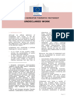 European Semester Thematic Factsheet Undeclared Work En