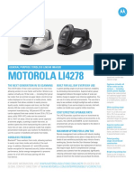Motorola Li4278 Wireless Barcode Scanner