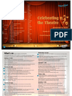 Celebrating the Theatre Brochure