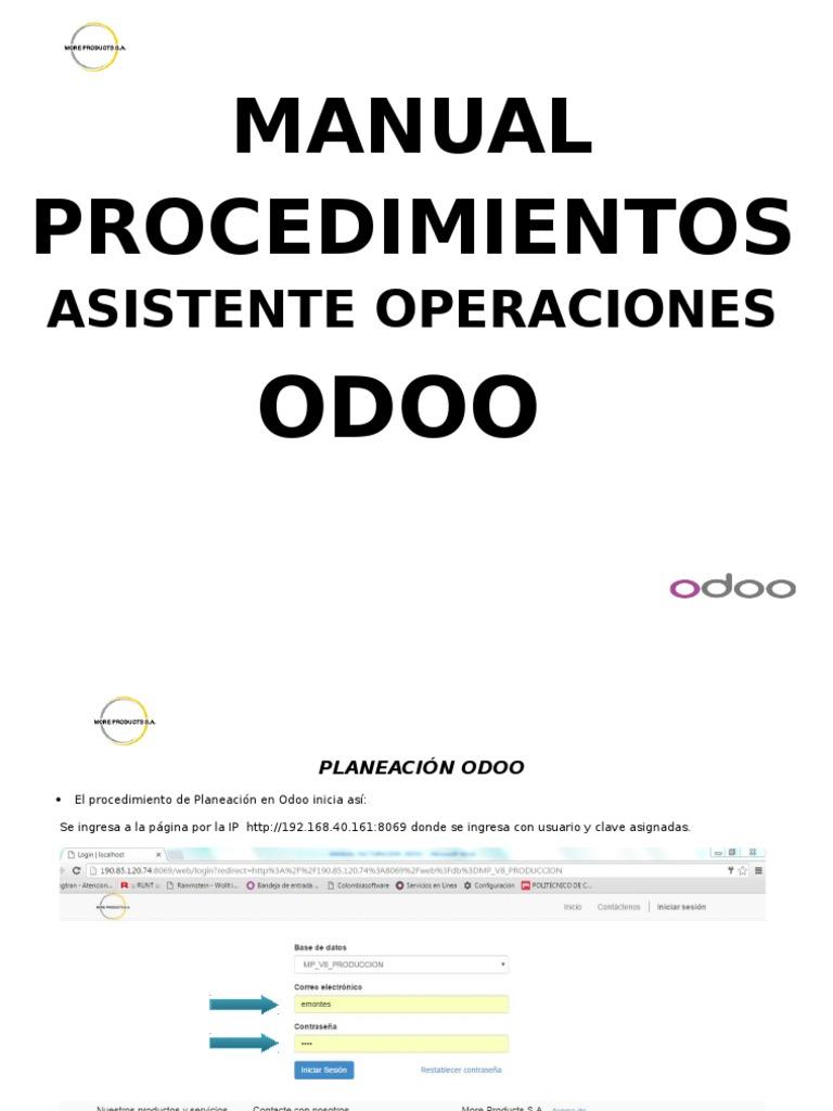 Manual Asistente Operaciones Odoo