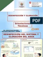 Cloración y Desinfección Por Gravedad