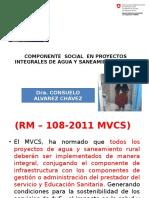 Presentacion Expediente Técnico Social Para Proyectos Integrales de Agua
