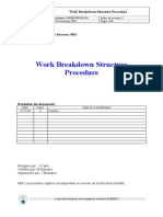 WBS DOP3000-PRC-005-0-03