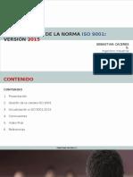 Actualización a Norma ISO 9001_2015