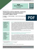 Telangiectasias extensas adquiridas comparación entre telangiectasia esencial generalizada y vasculopatía colágena cutánea