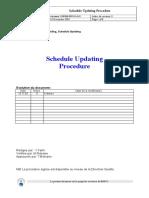 Schedule Updating DOP3000 PRC 011-0-03