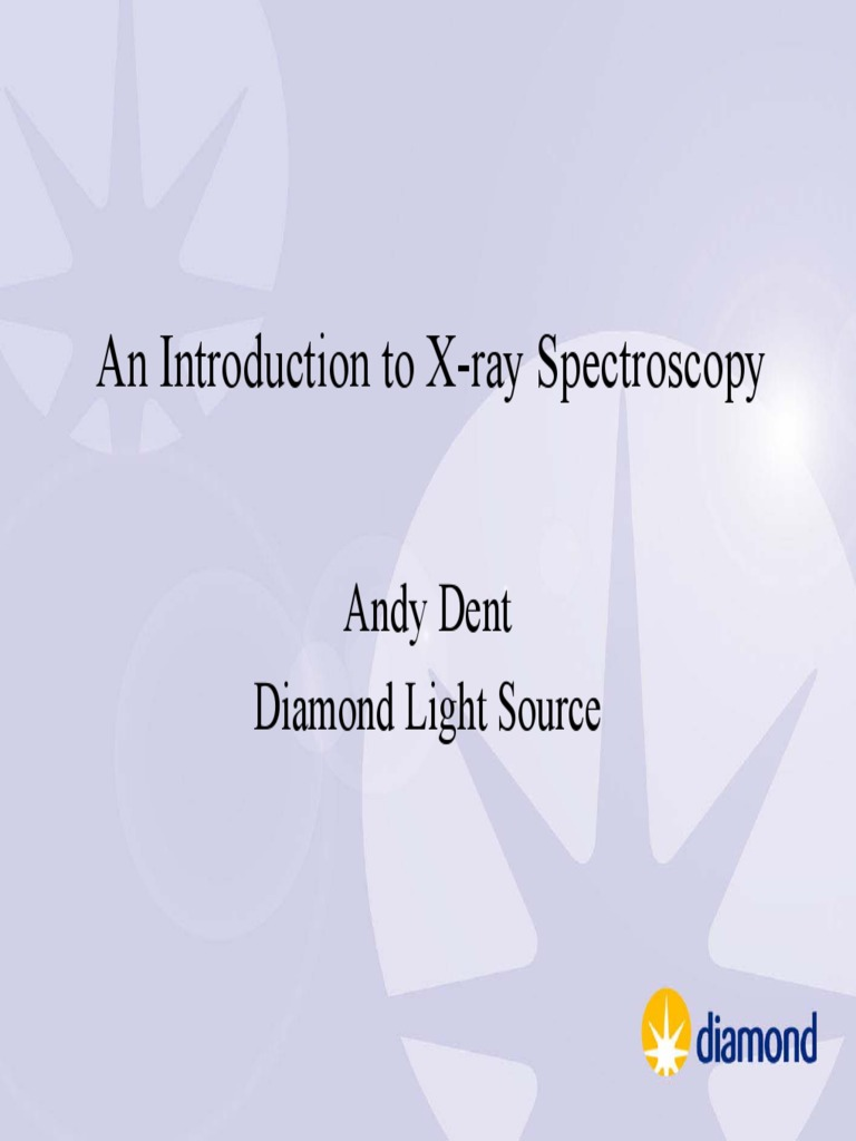 X-Ray Spectroscopy: An Introduction