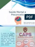 Saúde Mental e Preconceito