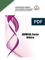 Quimica Factor Biotico-1