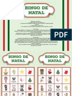 Bingo de Natal - Color