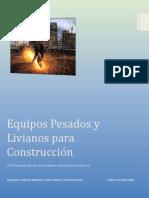 Equipos Pesados y Livianos Para Construcción