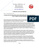 Endoso Consejo General de Estudiantes de la UPRRP