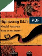 High-score IELTS Writting Model Answers