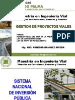 4 Normatividad SNIP Preinversion APPs Contraciones UPRP 23 30 Oct 6Nov Modificada