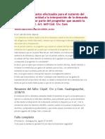 Fallo Alimentos Reembolso de gastos efectuados para el sustento del hijo 27-08-2015.doc